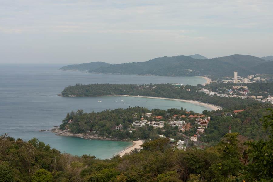 Kata Noi, Kata, and Karon Beaches from the View Point