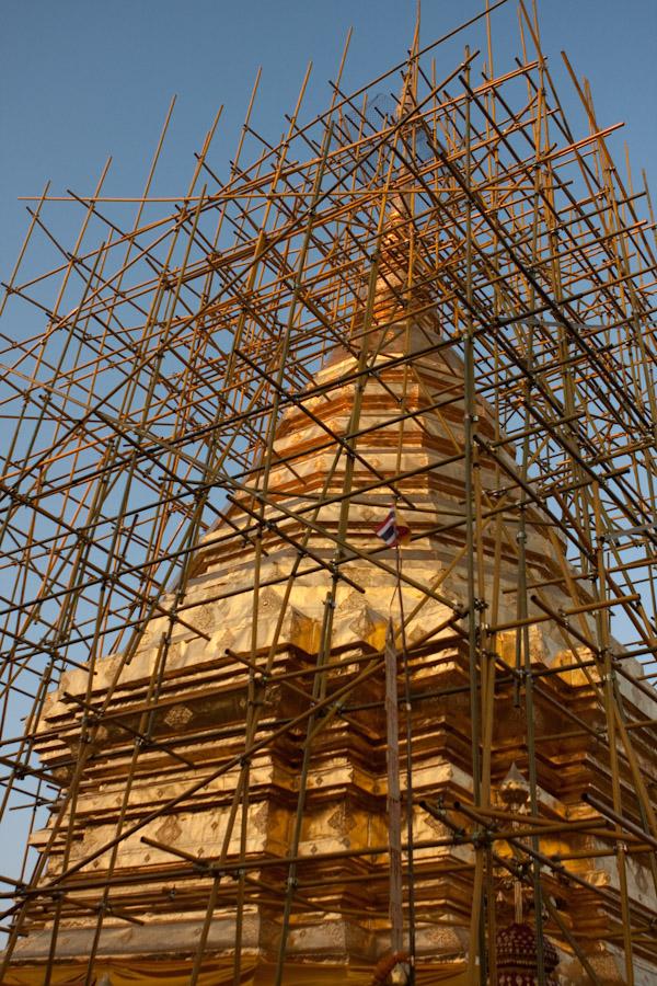 Stuppa at Wat Phra That Doi Suthep