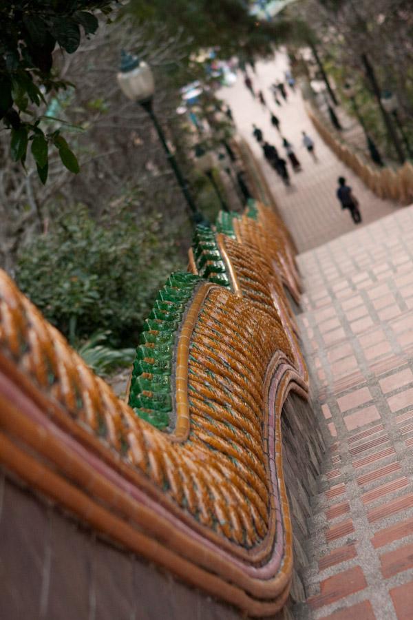 Naga (Sea Serpent) Lined Stairway