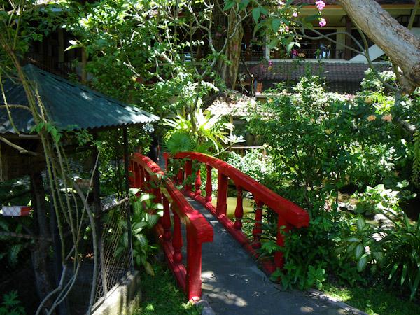 Garden bridge, Mastapa Garden Hotel, Bali