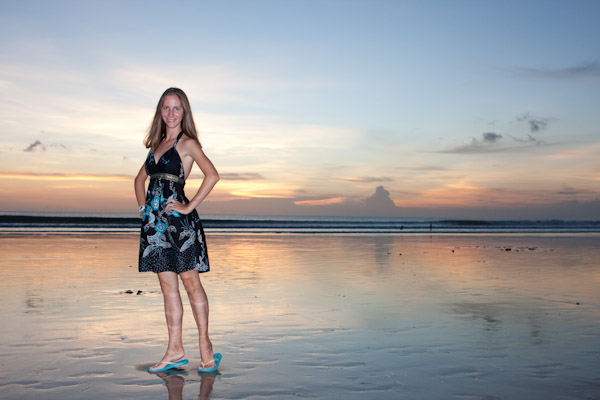 Heidi, Kuta Beach, Bali