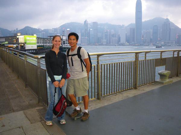 Heidi and George, Hong Kong