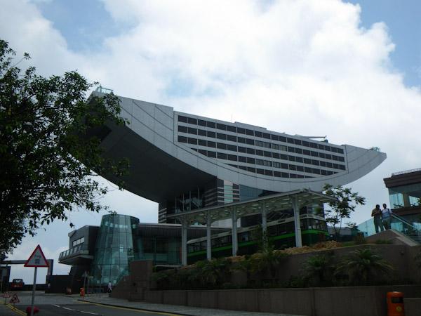 Mall at the Hong Kong viewpoint