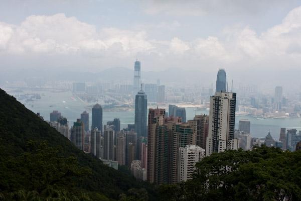 Skyline from Hong Kong Viewpoint
