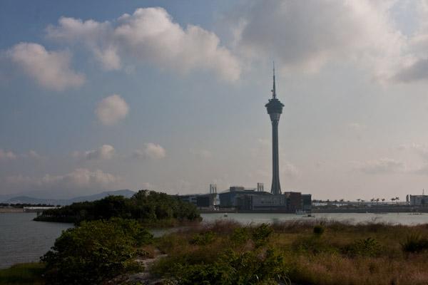 Communication tower, Macau
