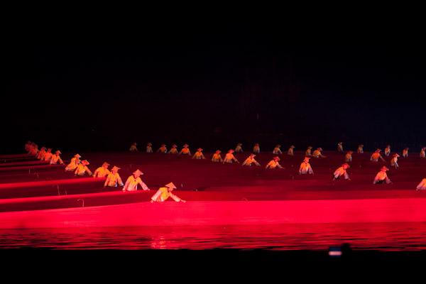 Fishermen Performing in Liu Sanjie