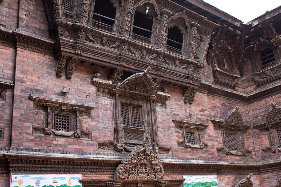 Home of the living goddess, Kumari