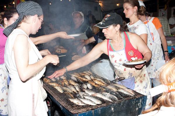 Grilled sardines, anyone?