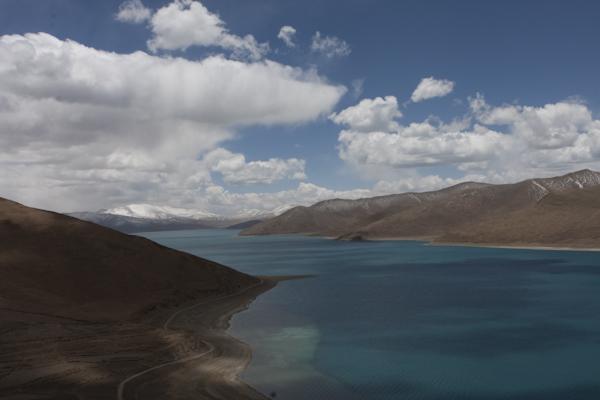 Yamdrok Lake. Tibet