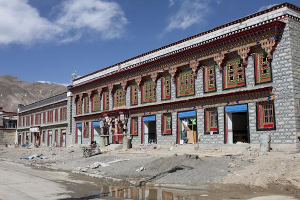 Building in Gyantse, Tibet