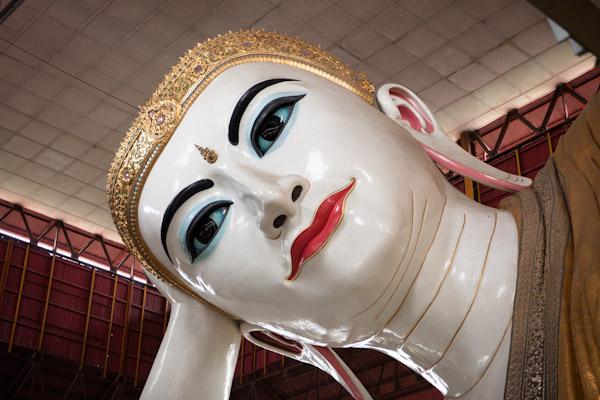 Chaukhtatgyi Paya Buddha's Face