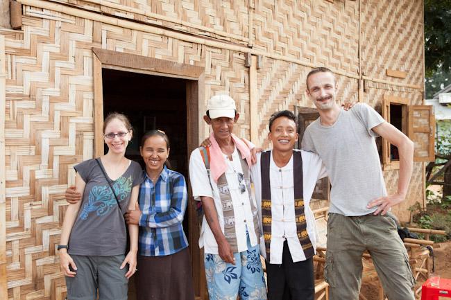 Heidi, Chief's Wife, Guide Jo Jo, Chief of Pankam, Davide