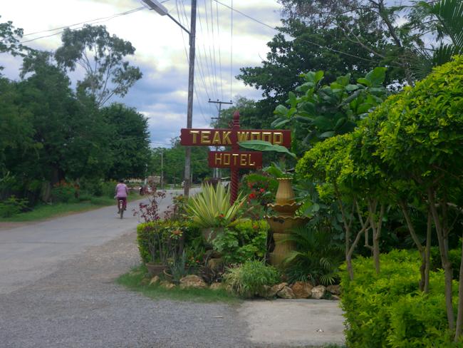 Teakwood Guest House in Nyaungshwe (Inle Lake)