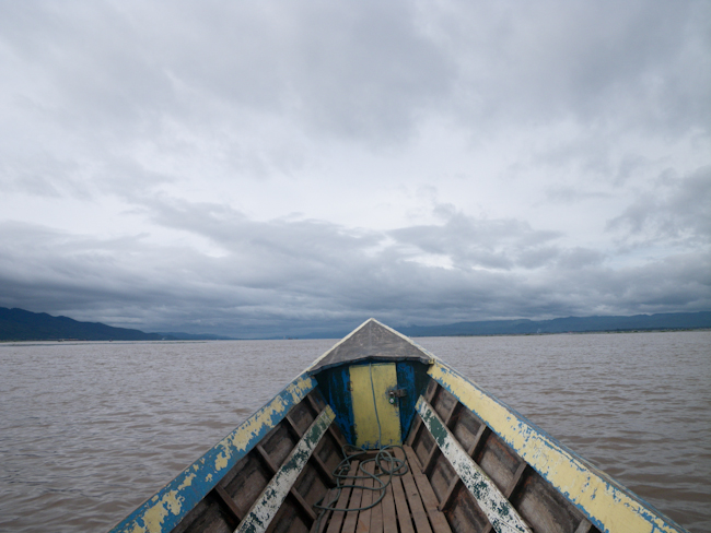 Heading Out into Inle Lake