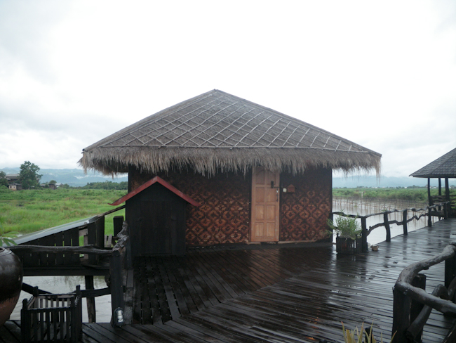 Our Bungalow at Shwe Inn Tha on Inle Lake