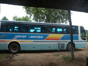 Bus from Inle Lake to Bagan