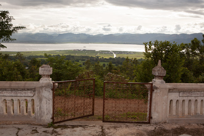 View of Inle Lake from the Forest Monastery