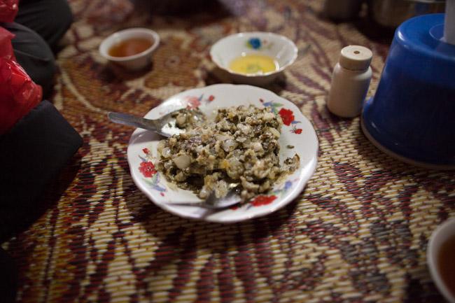 Hinthou Dip- The best food we had in Myanmar!