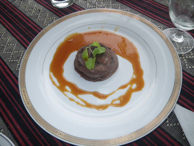 Chocolate Dessert at Star Beans in Old Bagan