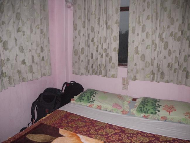 Bed at Emperor Hotel in Bago