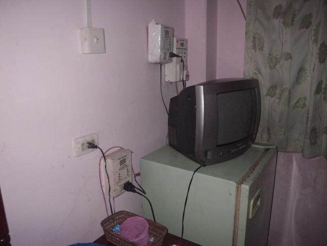 Cramped Room at Emperor Hotel in Bago