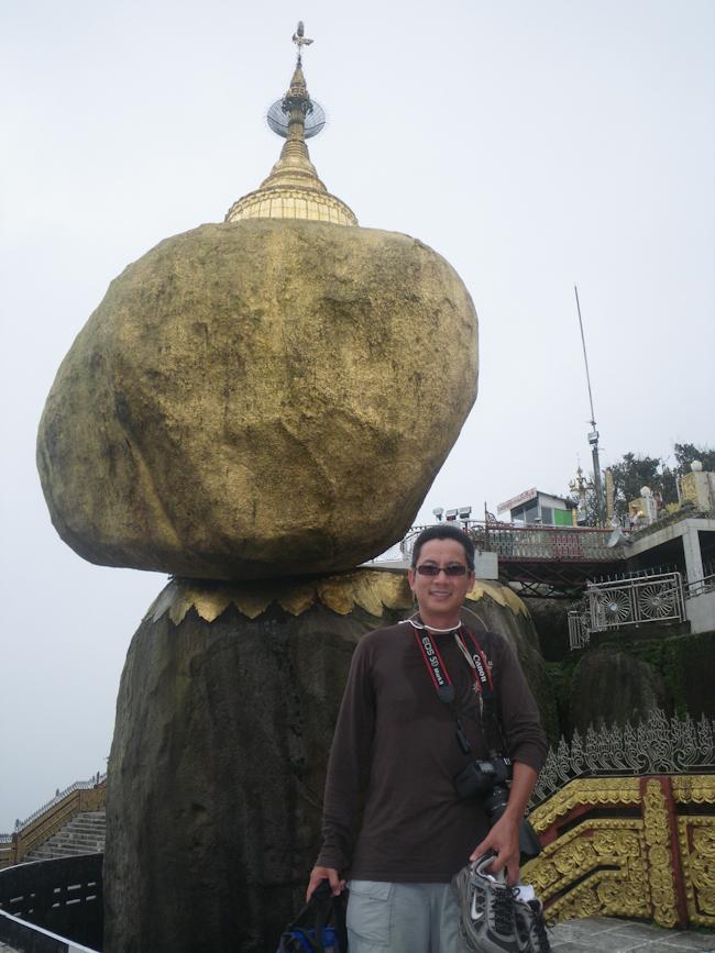 George at Mt. Kyaiktiyo (Golden Rock)