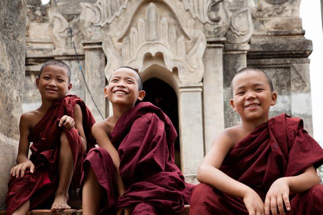 Novice Monks at Mi-Ma-Laung Temple
