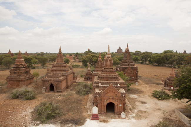 View from the Top of a Little Temple in Bagan