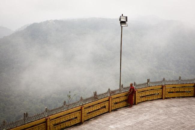 View from Mt. Kyaiktiyo (Golden Rock)