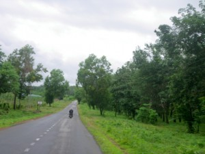 Motorbike Ride to the Bus Station in Kyaikto