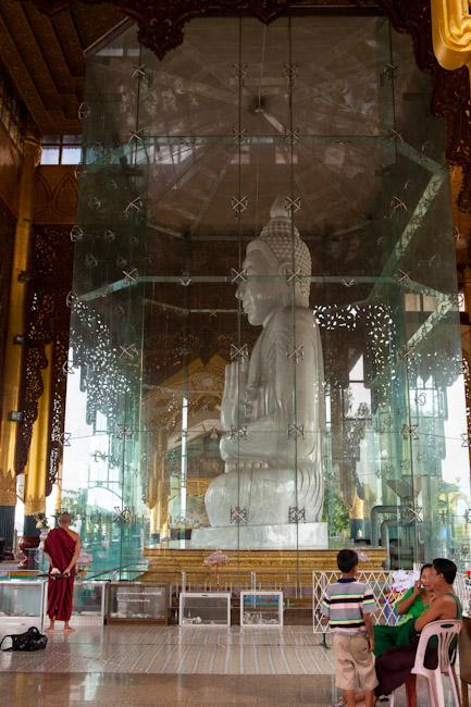 Kyauk Daw Kyi White Marble Buddha Image