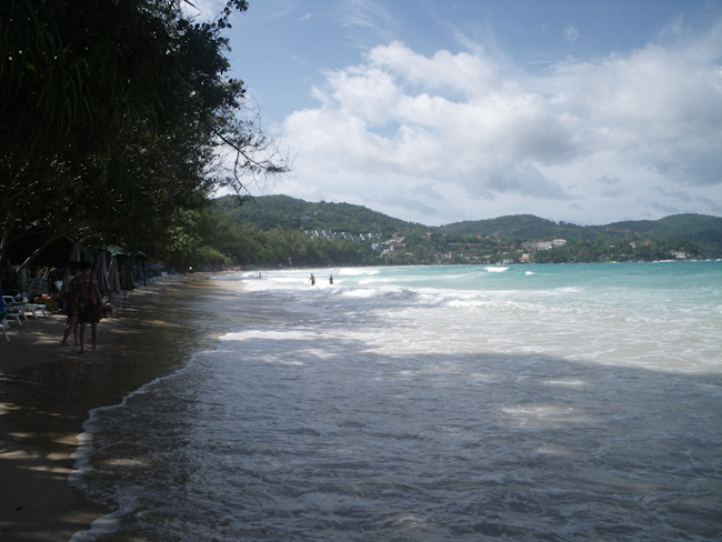 Kata Beach in August