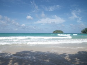 Beautiful Kata Beach, Phuket, Thailand